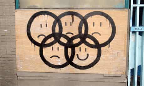Olympics graffiti