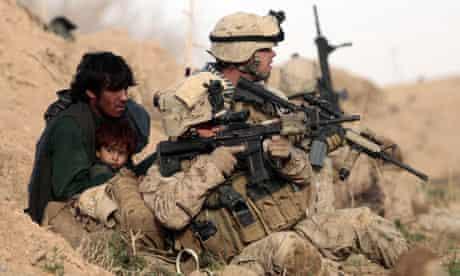 US Marines Afghanistan  Taliban