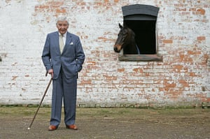 Dick Francis: 2006: Dick Francis at the Stables at Carden, Cheshire