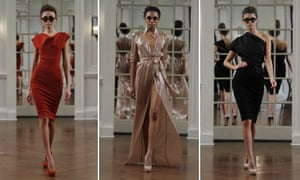 Victoria Beckham autumn/winter collection at New York fashion show 2010
