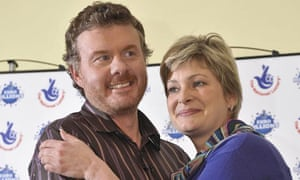 EuroMillions lottery winners Nigel Page and his partner Justine Laycock
