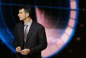 Russian oligarchs: Mikhail Prokhorov