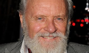 Anthony Hopkins at the Wolfman film premiere