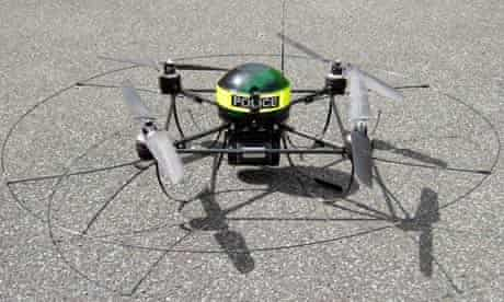 Police drones used in arrest