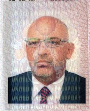 Mahmoud al-Mabhouh: Michael Lawrence Barney of British nationality, one of eleven suspects
