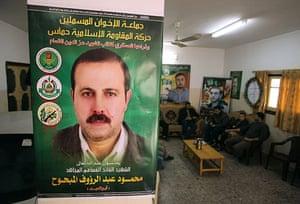Mahmoud al-Mabhouh: Posters depicting senior Hamas military commander Mahmoud al-Mabhouh