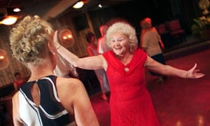 old lady dancing PRESTWICH TORIES conservative club