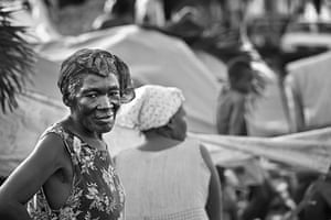 Haiti Exhibit Sale: Families who set temporary shelters Petion Ville,  Port-Au-Prince Haiti