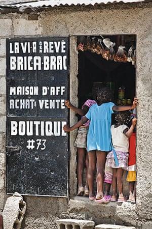 Haiti Exhibit Sale: Port-Au-Prince, Haiti: Cite Soleil mud cake hut