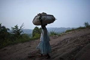 Haiti Exhibit Sale: Pilgrim at Saut D'eau, Haiti