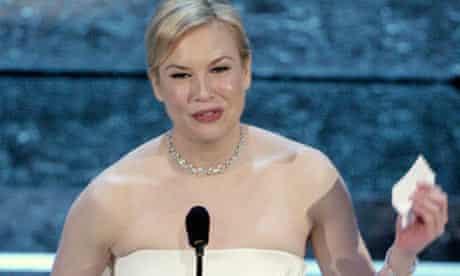 Zellweger Oscar speech