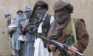 Taliban guerrilla fighters