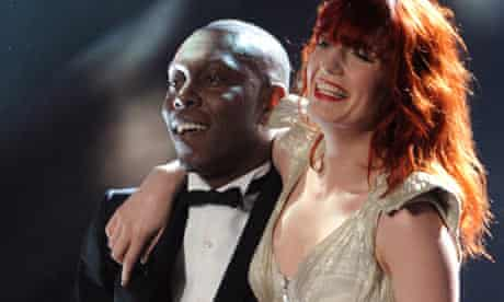 Florence Welch and Dizzee