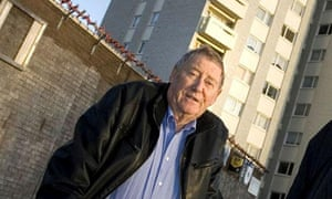 Austin Mitchell MP in Tower Block of Commons.