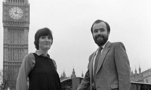 Harriet Harman and Jack Dromey in 1982.