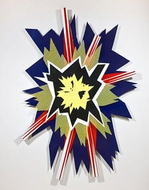 JG Ballard: Crash: Roy Lichtenstein, Explosion II (2010)