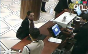 Mahmoud al-Mabhouh: A female murder suspect checks into a hotel