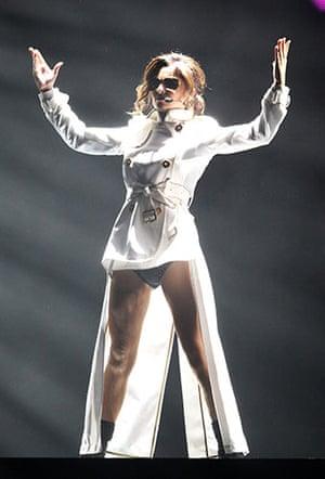 Brit Awards Style: The Brit Awards 2010 Cheryl Cole
