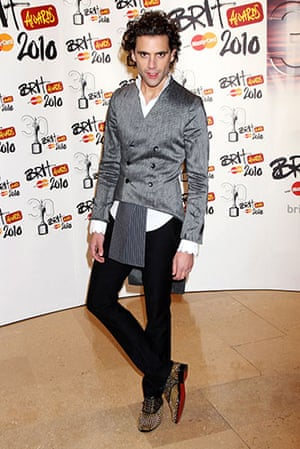 Brit Awards Style: The Brit Awards 2010 Mika