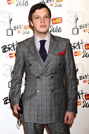 Brit Awards Style: The Brit Awards 2010 Ed Macfarlane of Friendly Fires