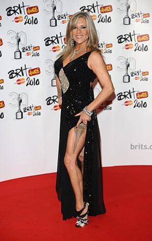 Brit Awards Style: The Brit Awards 2010 Samantha Fox