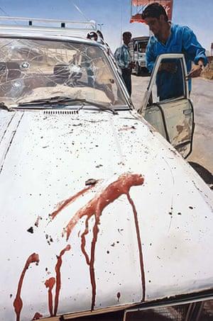 JG Ballard: Crash: Damien Hirst, Suicide Bomber (Aftermath), 2005