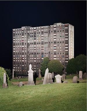 JG Ballard: Crash: Cyprien Gaillard, View of Sighthill Cemetery (2008)