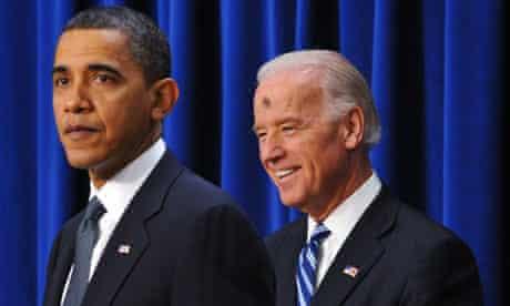 Joe Biden with Ash Wednesday mark on forehead