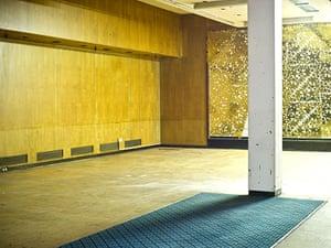 Lewis's fifth floor: Empty shop floor area