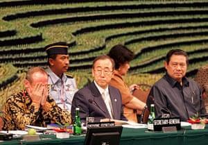 Yvo de Boer: Yvo de Boer UN Climate Change Conference in Nusa Dua, Bali, Indonesia