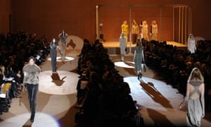 Marc Jacobs's show at New York fashion week