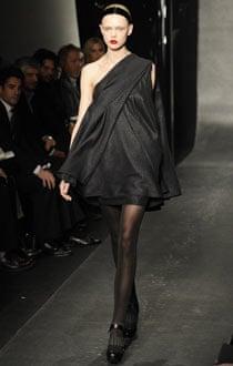 Donna Karan at New York fashion week
