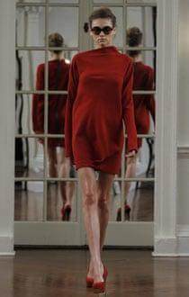 Victoria Beckham at New York fashion week