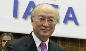 Yukiya Amano says Iran could be making a nuclear weapon