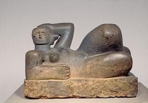Henry Moore: Henry Moore, Reclining Figure 1929