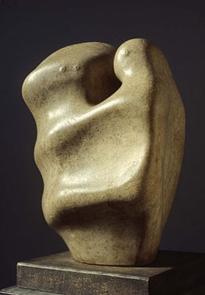 Henry Moore: Henry Moore, Mother and Child 1936