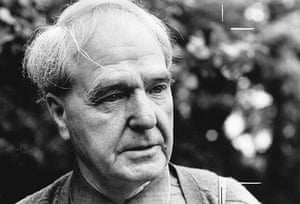 Henry Moore: Sculptor Henry Moore, July 1968