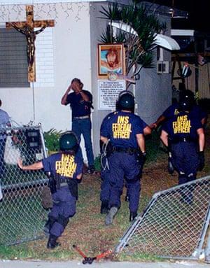 Elian Timeline: Agents storm the Miami home of Elian Gonzalez
