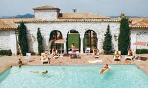 Pool In St Tropez