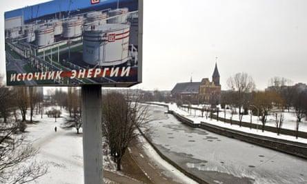 A view of Kaliningrad