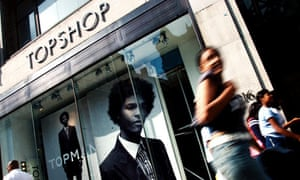 Topshop in Oxford Street, London