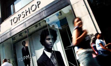 Topshop in Oxford Street, London