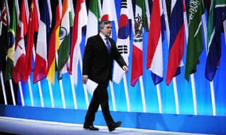 Brown at g20 summit