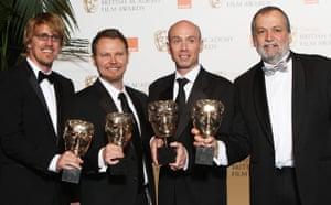Baftas 2010: winners: Baftas 2010: Avatar's best visual effects team