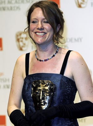 Baftas 2010: winners: Baftas 2010: Emma Lazenby