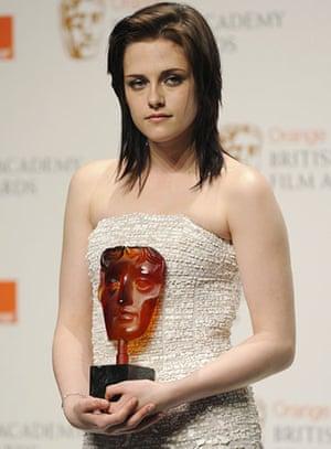 Baftas 2010: winners: Baftas 2010: Kristen Stewart