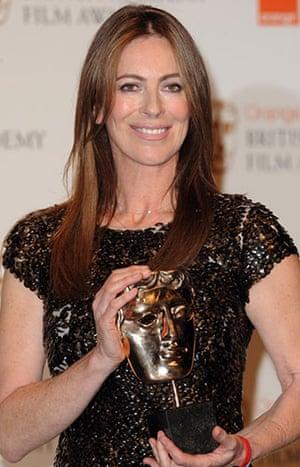Baftas 2010: winners: Baftas: Kathryn Bigleow