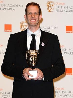 Baftas 2010: winners: Baftas: Pete Docter