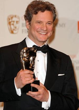 Baftas 2010: winners: Baftas 2010: Colin Firth