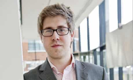 Student William Harrison, who ran up an £8,000 bill on Orange in one month
